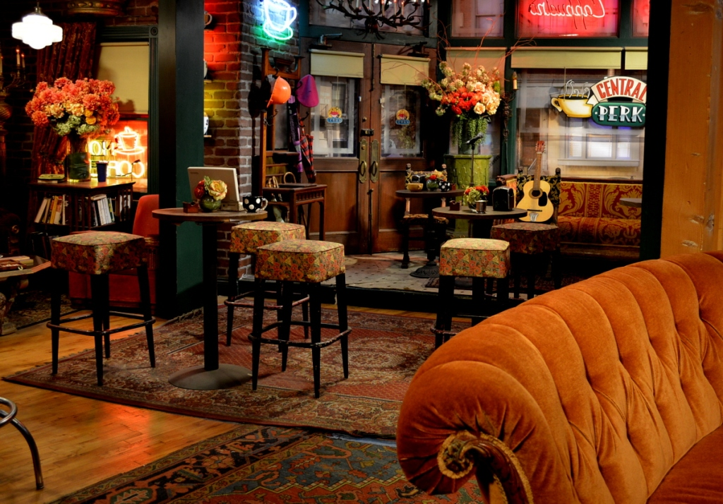 "Central Perk set from TV show ""Friends"""