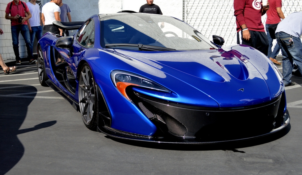McLaren P1 at Lamborghini Newport Beach's Supercar Show