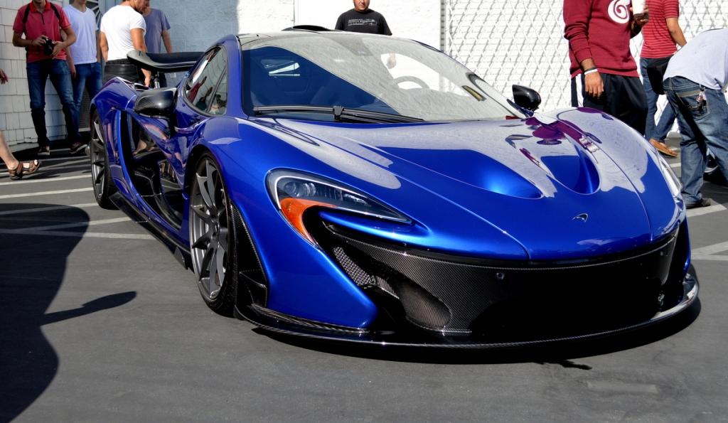 McLaren P1 at Lamborghini Newport Beach's Supercar Show