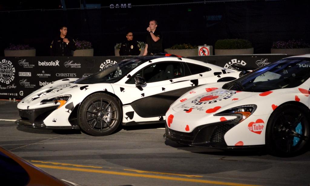 deadmau5's McLaren P1 and McLaren 650S