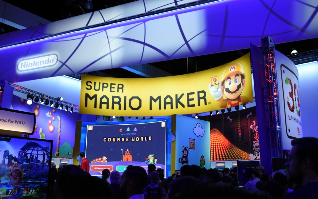 Super Mario Maker. The ultimate 2D Super Mario game.