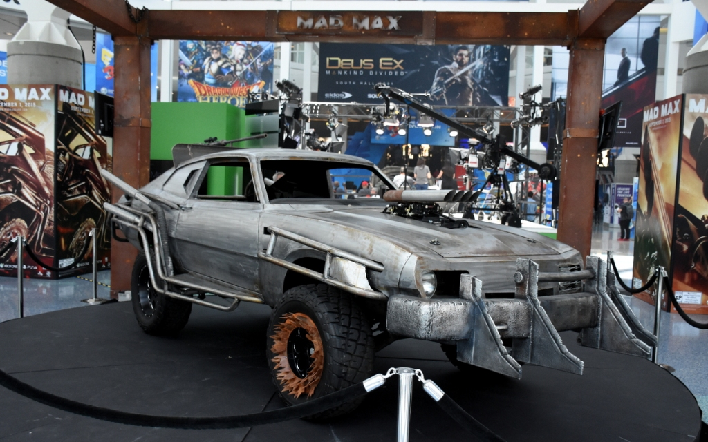 One of the cars from the upcoming Mad Max videogame.