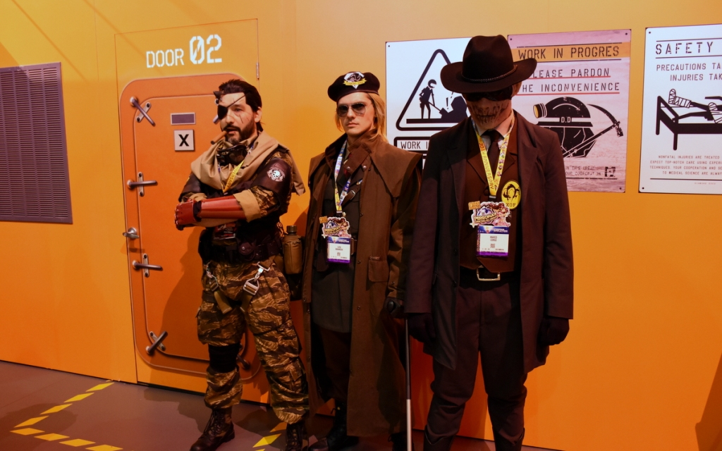 Characters from Metal Gear Solid V.
