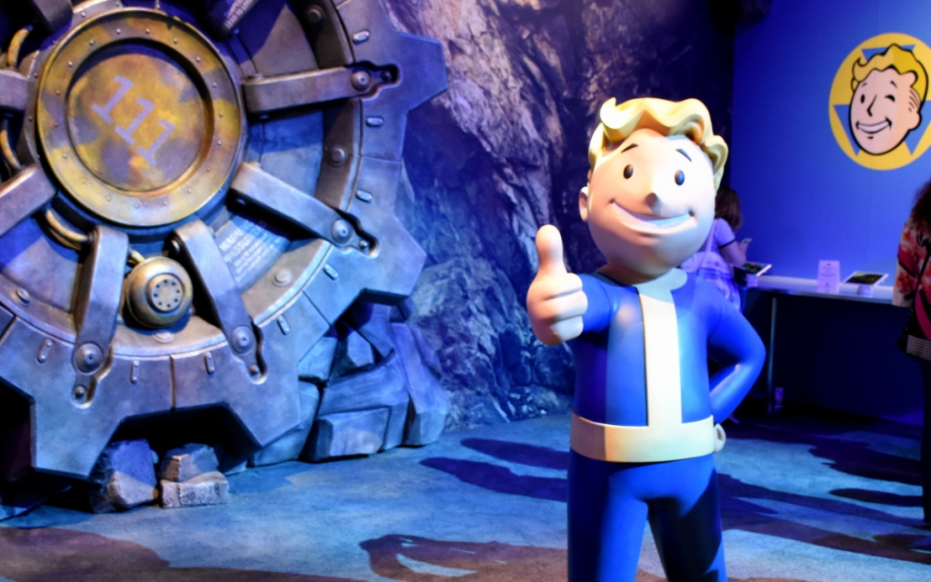 Vault Boy assures us that the post-apocalyptic world will be A-OK!