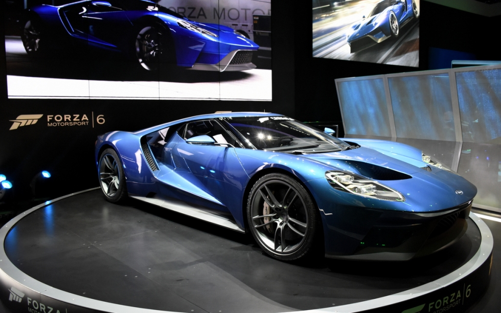2017 Ford GT is the cover car for Forza 6.